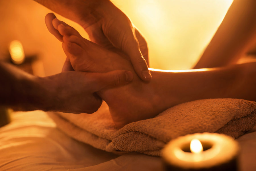 Ayurveda - Fuß-Massage