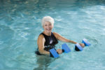 Aqua RückenFit-Kräftigungsübungen im Tiefwasser